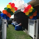 Balloon Arch closeup
