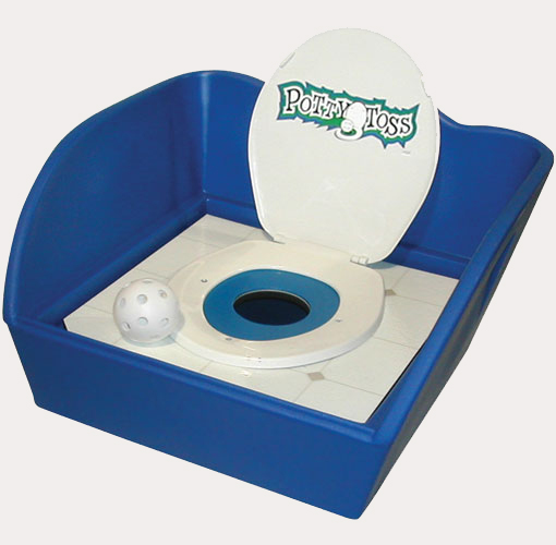 Potty Toss Carnival Theme Party Rental
